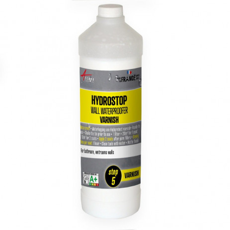 HYDROSTOP - Varnish for showers / bathrooms walls