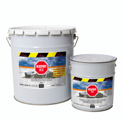 ARCAPOXY DECO - Epoxy Paint, Floor and wall coating in living room, basement, loft no solvants, non toxic